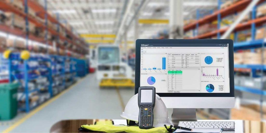warehouse management system header